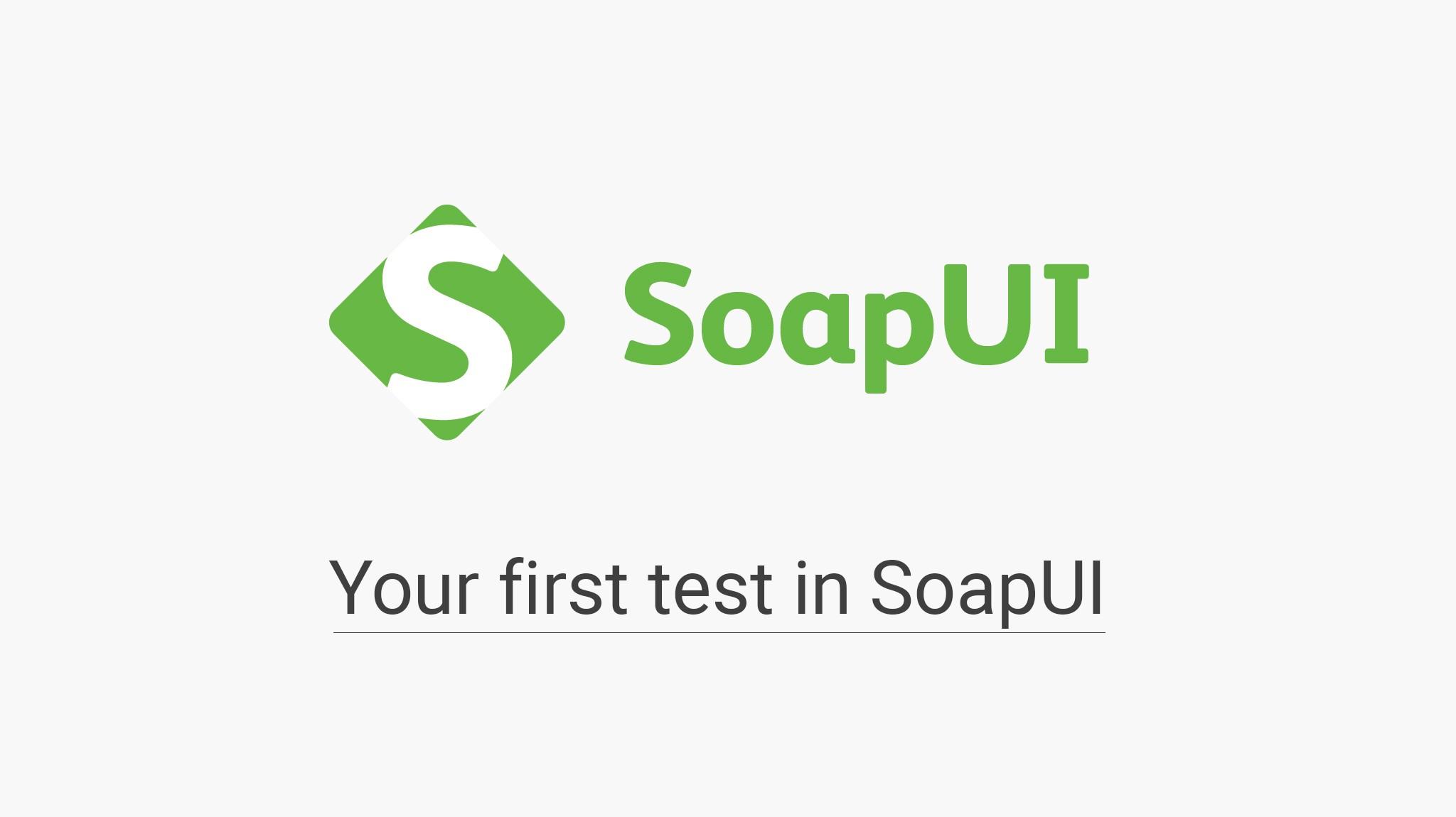 API Testing Tool SoapUI
