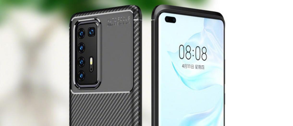 Huawei P40 & P40 Pro Renders