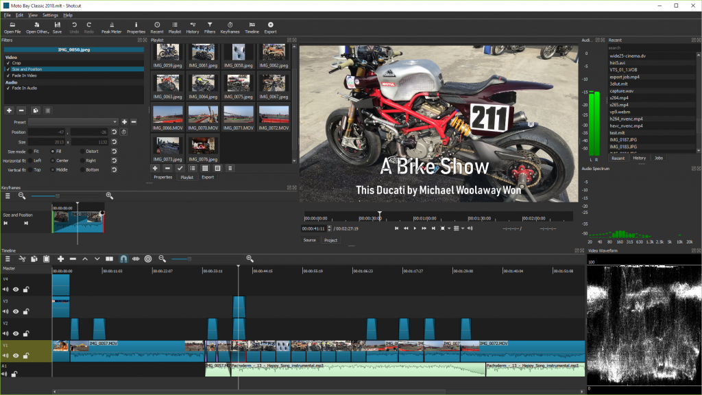 Video Editing Tool for PC